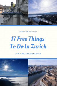 17 Free Things To Do In Zurich
