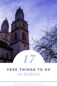 17 Free Things To Do in Zurich, Switzerland