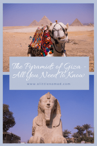 The Pyramids of Giza - All You Need To Know And Why You Have To Visit Egypt NOW