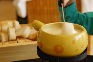 Cheese Fondue after Hiking in Zurich