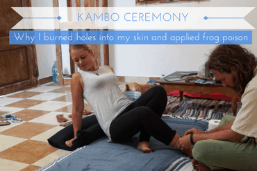 Why I burned holes into my skin and applied frog poison - A Kambo Ceremony in Egypt