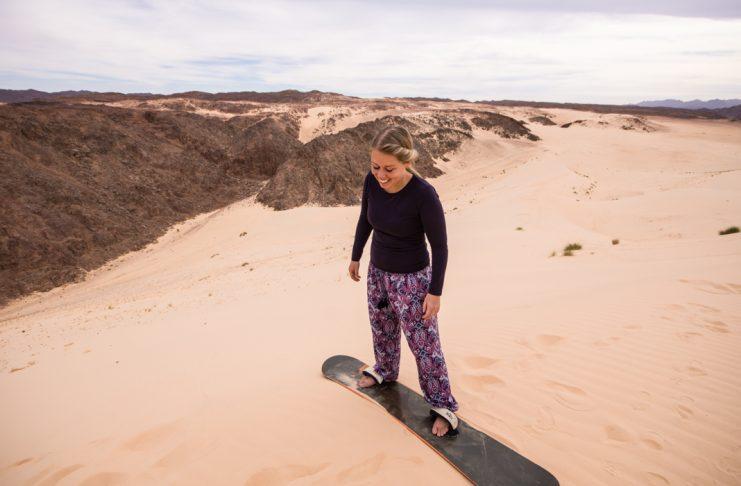 Where & How To Go Sandboarding in Dahab - Sinai - Egypt