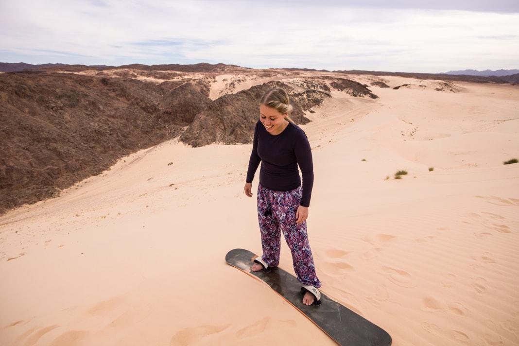 Where & How To Go Sandboarding in Dahab - Sinai - Egypt • A