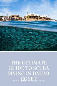 Dahab Diving - The Ultimate Scuba Guide #dahab #scubadiving #egypt
