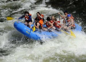 Destinations in Australia for Adrenaline Junkies - White Water Rafting