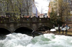 Things To Do In Munich - Surfing Eisbach