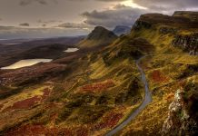 Hiking in UK - Isle of Skye