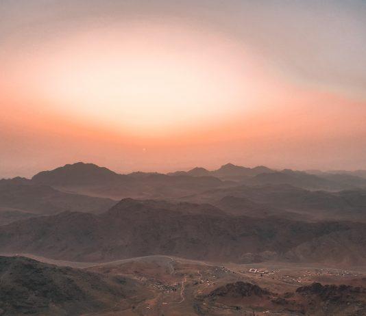Climbing Mount Sinai Peak