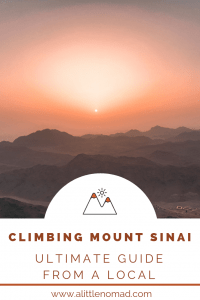 Climbing Mount Sinai - 8 Things You Need To Know Before
