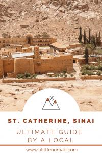 St. Catherine Sinai Guide