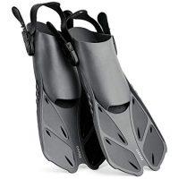CAPAS Snorkel Fins, Adjustable Swim Fins in Travel Size