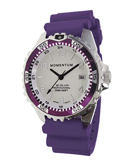 Momentum Men & Women's Dive Series Quartz Sports Watch - M1 Splash