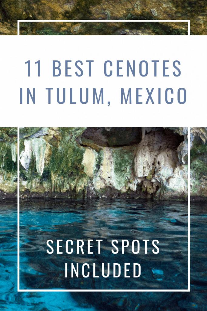 11 Best Cenotes in Tulum