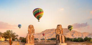 Hot Air Ballooning in Luxor, Egypt