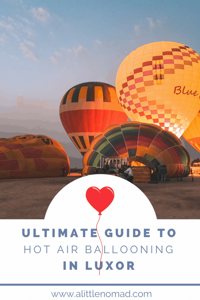 HOT AIR BALLOONING IN LUXOR EGYPT - Everything you need to know about Hot Air Ballooning in Luxor: Prices, Safety, Best Time, Tips & Tricks etc. Plus Inspiring Photos & Videos!