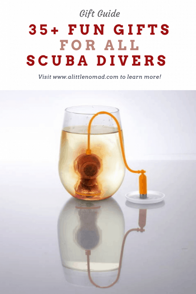 The Best Gifts For Scuba Divers (Men and Women): Funny gadgets, personalizable scuba gifts, ocean-themed books and board games and much more!