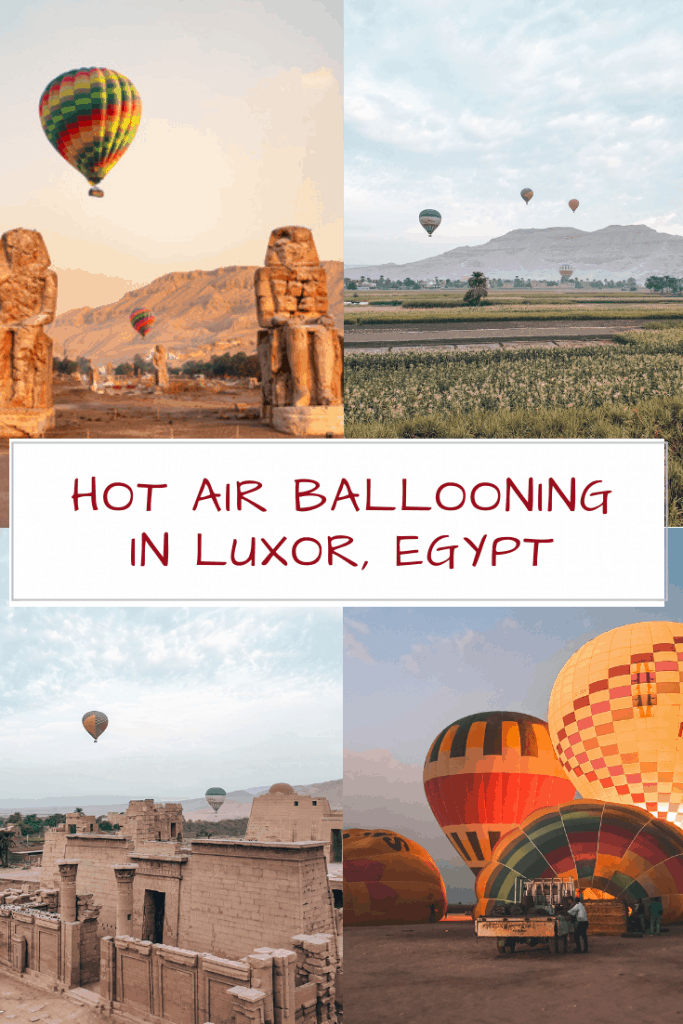 HOT AIR BALLOONING IN LUXOR EGYPT Everything you need to know about Hot Air Ballooning in Luxor: Prices, Safety, Best Time, Tips & Tricks etc. Plus Inspiring Photos & Videos!
